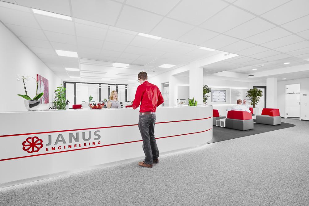 JANUS Engineering AG Foyer